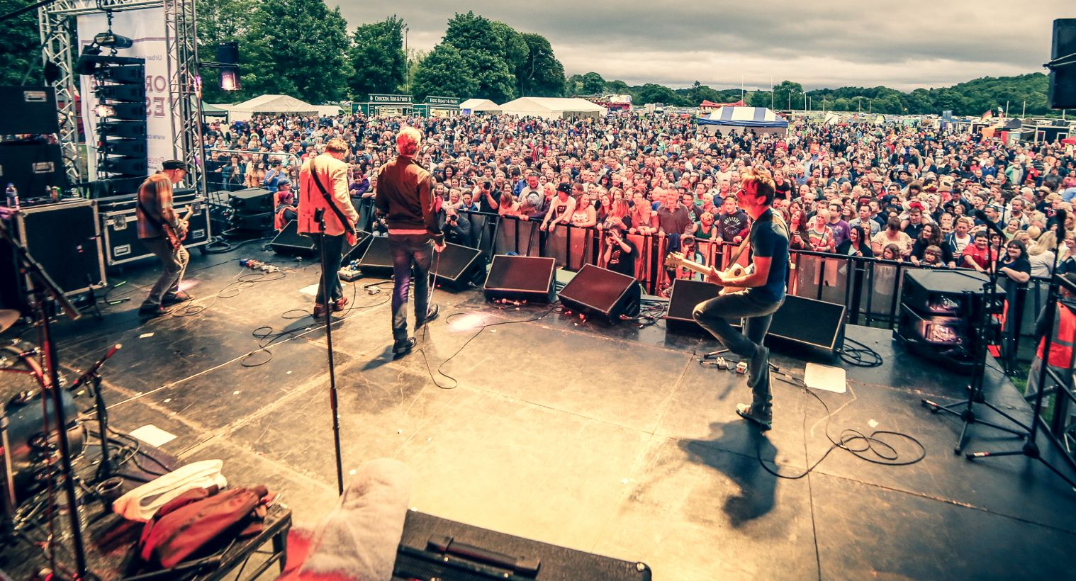 The Undertones headlining Corbridge Festival in 2017