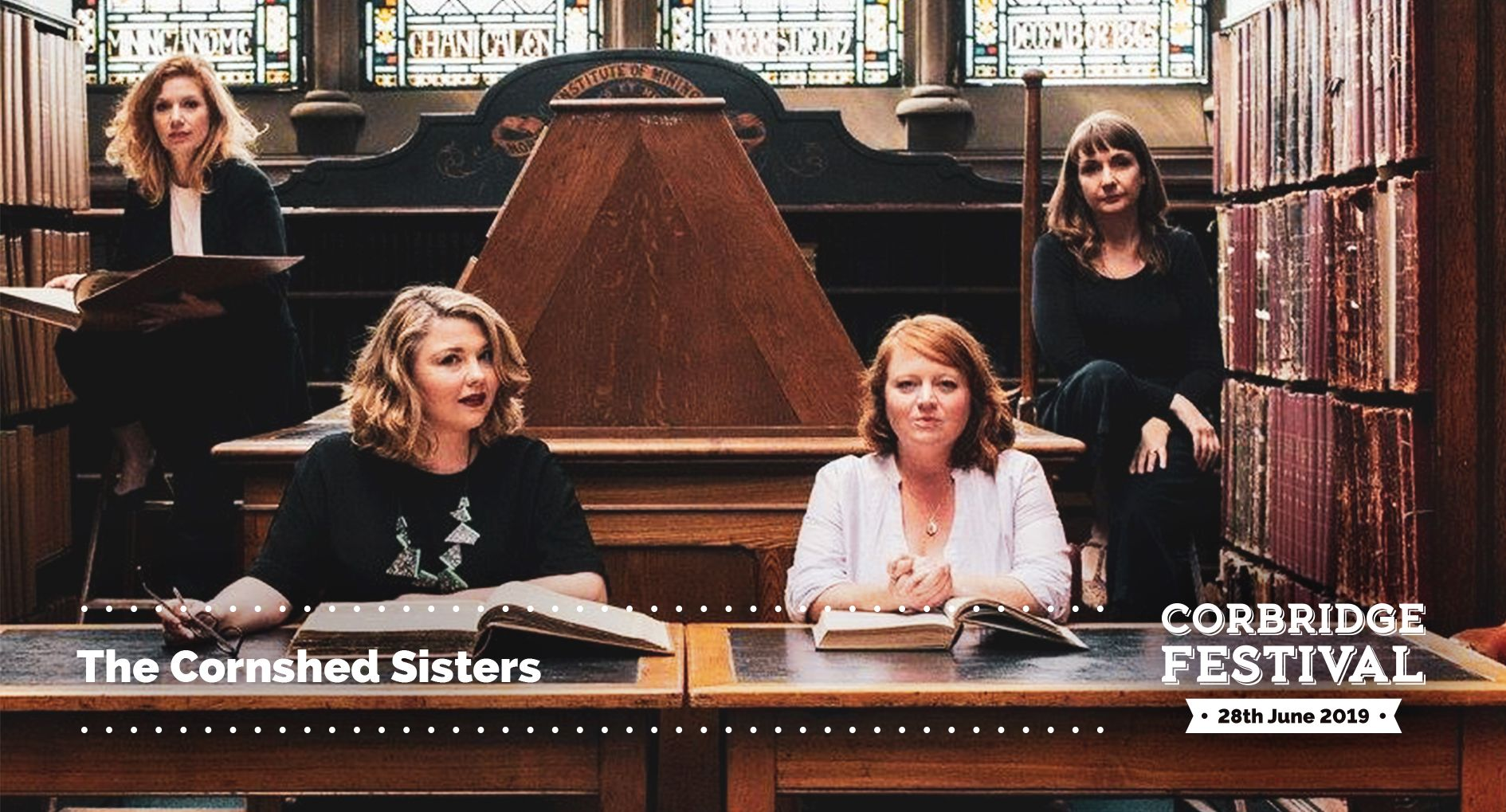 The Cornshed Sisters play Corbridge Festival 2019 on Friday 28th June