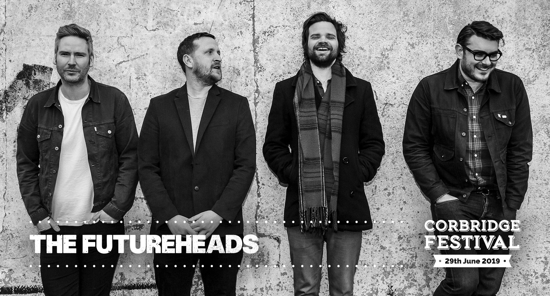 The Futureheads play Corbridge Festival 2019 on Saturday 29th June